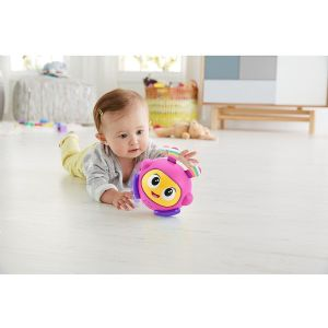 Fisher Price Bright Beats Spin & Crawl Tumble Ball - Beatbelle